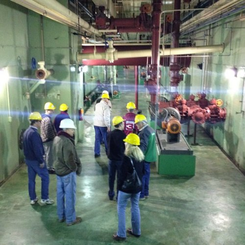 Waste Water Treatment Plant Tour