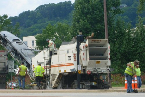 Huntington Road Paving Possible Traffic Delays