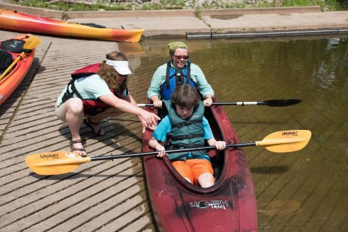Learn to kayak and rappel at North Bend State Park Sept. 3, 2016