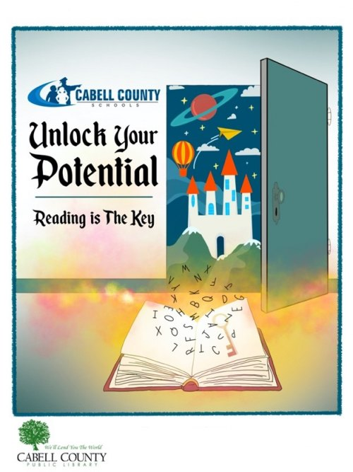 """Cabell Schools, Public Library Partnership Offers Students Opportunity to """"Unlock Your Potential"""""""