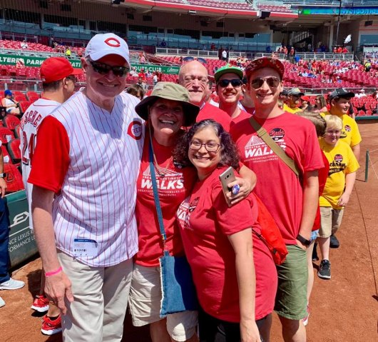 Huntington Day Celebrated by Reds