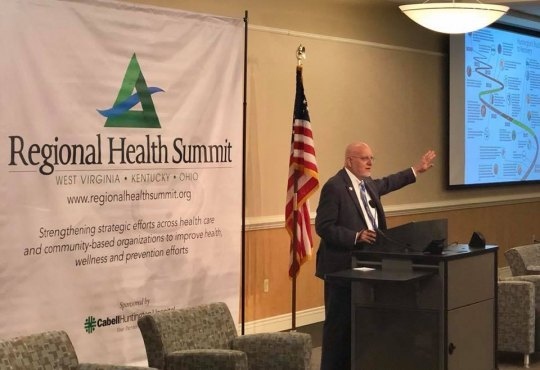 CDC Director Praises Huntington for Recognizing Addiction as Medical Condition, not Moral Failing