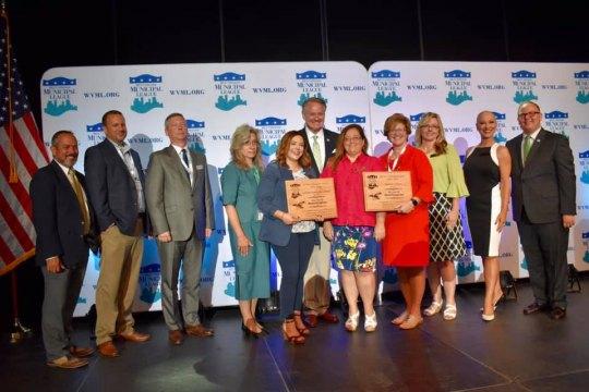 Huntington Honored with Municipal League Awards