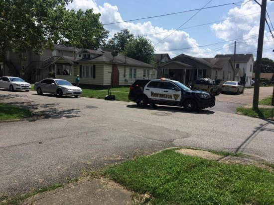 Police Search for Suspect Following West Huntington Shooting
