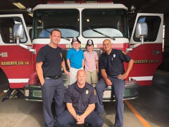 Huntington Firefighters Raise Nearly 10 G in Boot Drive