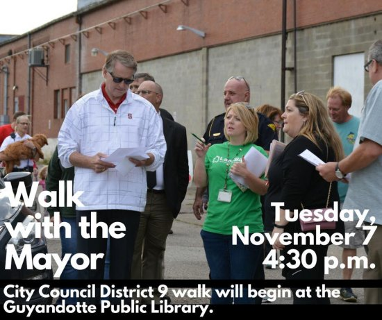 Walk with Mayor Williams Tuesday in Guyandotte