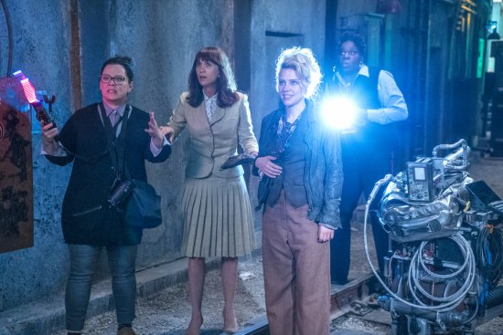 "FIRST LOOK: Lady ""Ghostbusters"" Gotcha Lots of Ooze, Slime and Howls"