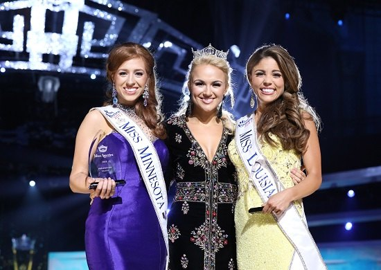 Miss Minnesota Brianna Drevlow, Miss America 2017 Savvy Shields, and