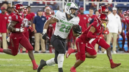 Herd football rallies for wild 36-31 win at FAU