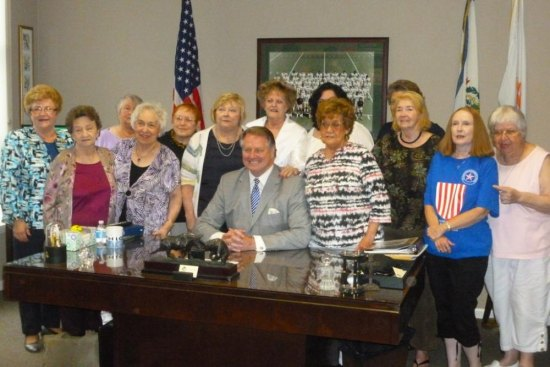 Cabell County Democratic Women meet with Mayor Steve Williams
