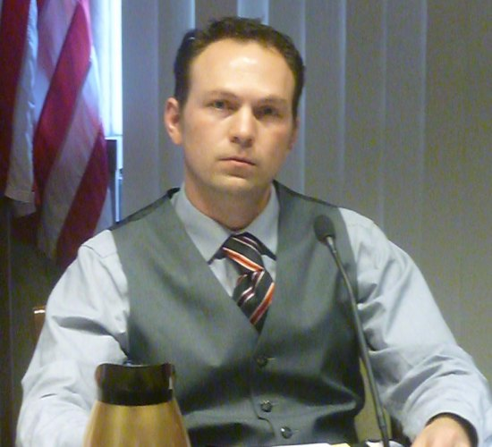 Council member Pete Gillespie