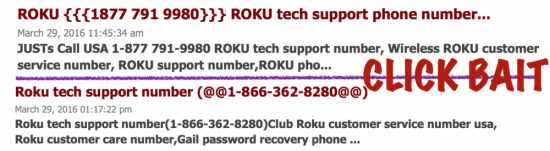 Careful on Roku Activation; Check to See it's ROKU, not HERN