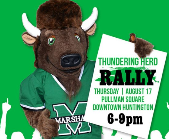 Thundering Herd Rally returns to Pullman Square Aug. 17