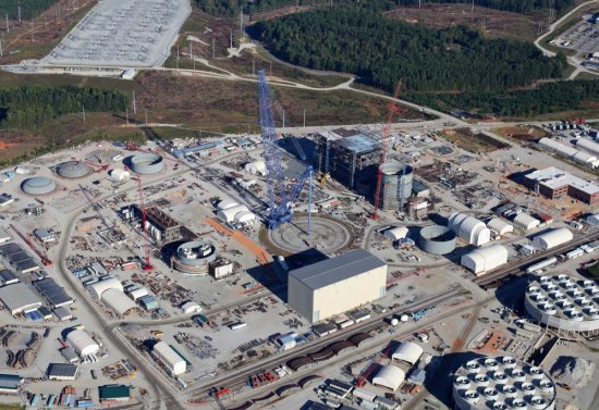 Unprotected Commodities, Empty Parking Lots, and Abandoned Steam Generators litter SCE&G's VC Summer Nuclear Site