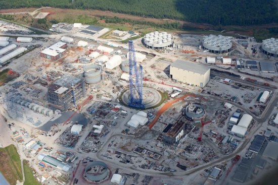 $9 Billion Nuclear Scrapyard: New Aerial Photos of SCE&G's Abandoned V.C. Summer Nuclear Project Reveal Disarray