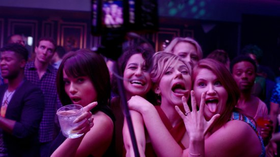 """FIRST LOOK: Both Women and Men Laugh Through """"Rough Night"""" pre-nuptial Celebration"""