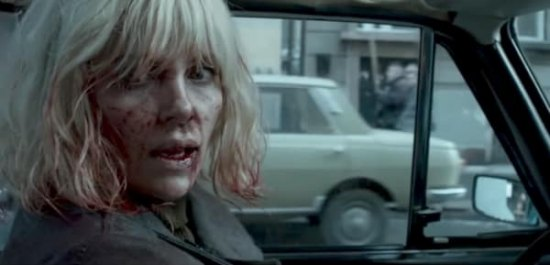 "FIRST LOOK: ""Atomic Blonde"" Establishes a Bruised, Bloodied, Kick Butt 'Special Agent' Niche for Charlize Theron"