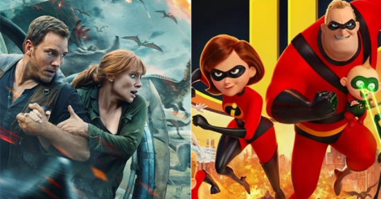 "FIRST LOOK: ""Jurassic"" and ""Incredibles"" will Bring Fans to Multiplex"