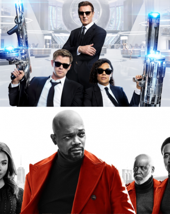 """Shaft,"" ""Men in Black International"" Pre ""Toy Story 4"" Boxoffice Sacrifices"