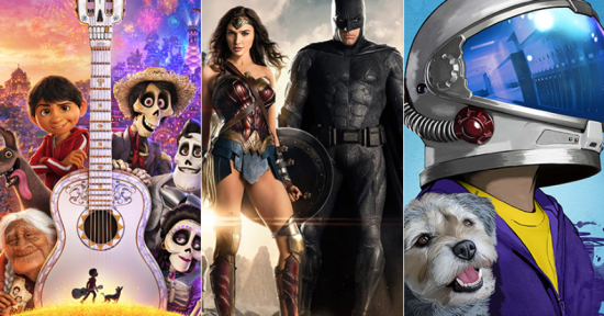 """Justice League"" May Fall to Disney's ""Coco"" ... but It's a Close Race, so far"