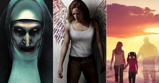 "Charleston's Jennifer Garner ""Peppermint"" Vigilante ; Nun, God Bless Broken Road also Debut"