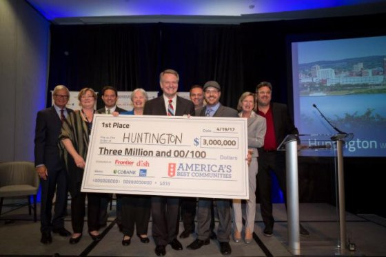 Imperfect but Working Together Huntington Wins Best Community