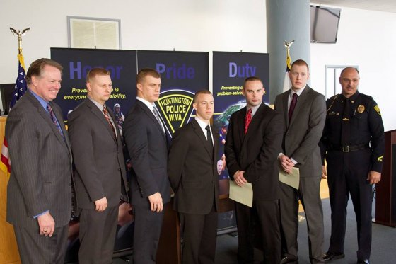 Officers Sworn in Friday