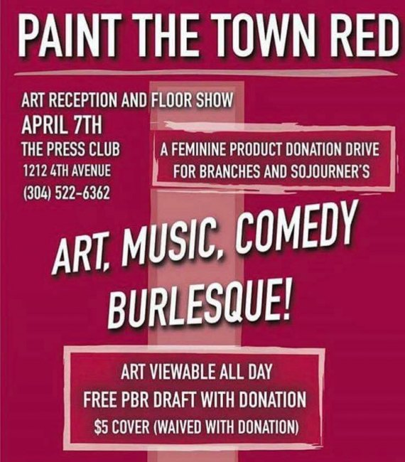 Art Benefit for Branches at Club