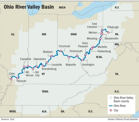 """Brutal"" Projections for Ohio River Basin"