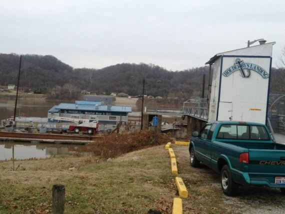 As of the latest report, the former floating restaurant should be headed down river this week.