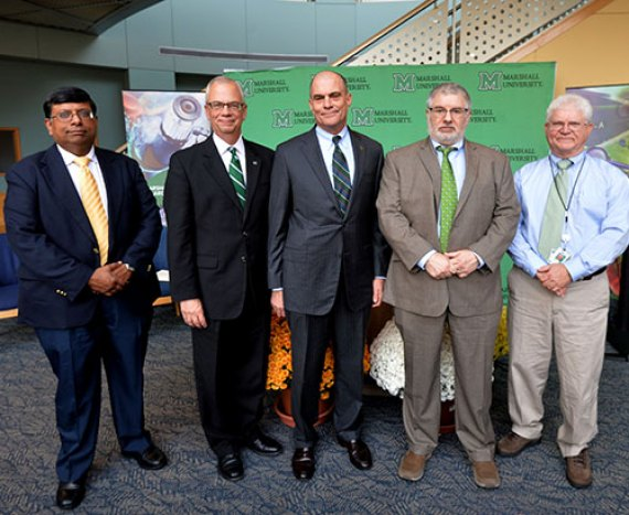 Marshall partners with UK on multimillion-dollar research grant