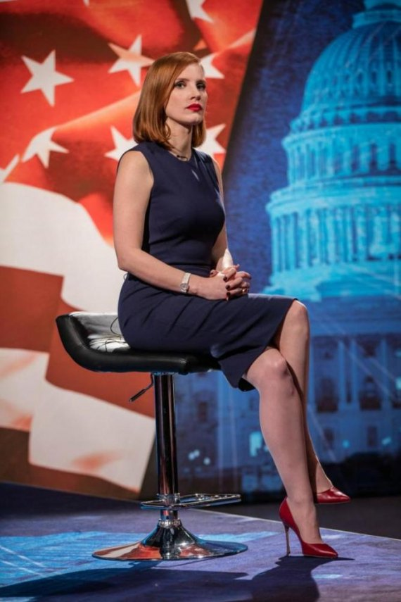 "FIRST LOOK: ""Miss Sloane"" Articulately Entertains Galvanizing Unprincipled Betrayal in the  Divided States of America Issues"