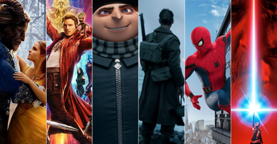 Montage: 2017 Blockbusters Head for Possible Records