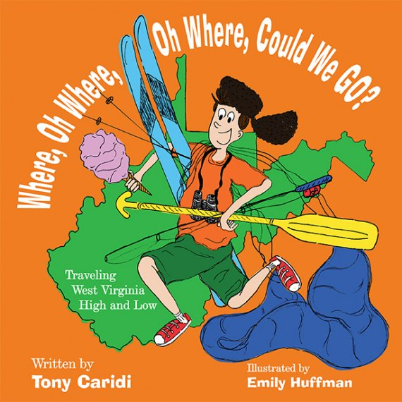 Caridi Debuts Children's Book, Travels West Virginia High and Low