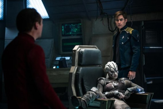 "FIRST LOOK:  ""Star Trek Beyond"" Spews Action Swarms and Sophisticated Symbolic Hat Tipping"