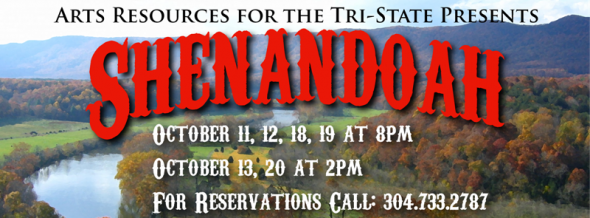 """Shenandoah"" opens October 11"