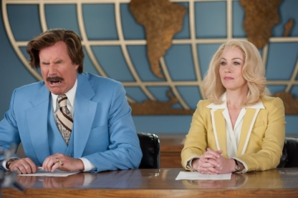 Scene from Anchorman II