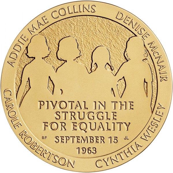 Congressional Gold Medal Awarded Posthumously to Victims of the 1963 Bombing of 16th Street Baptist Church