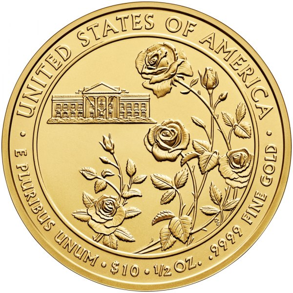 Ellen Wilson First Spouse Gold Coin Available December 9
