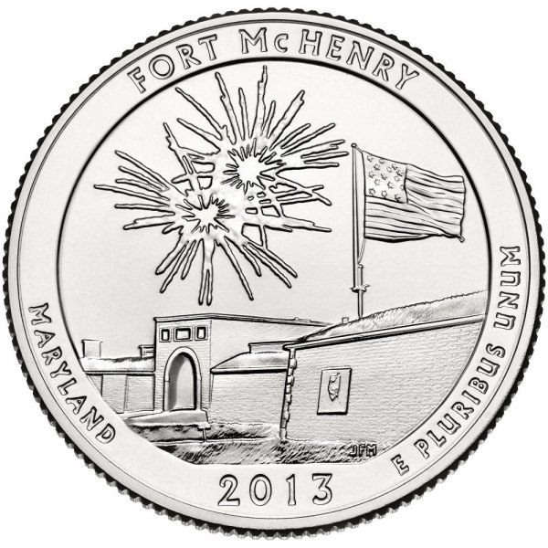 Three-Coin Set Featuring Fort McHenry National Monument and Historic Shrine Quarters Available September 19