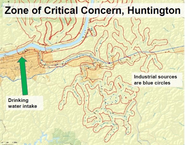 UPDATED: Legislature told Huntington has over 400  Water Risks in Critical Zone, Study Prepared in 2003