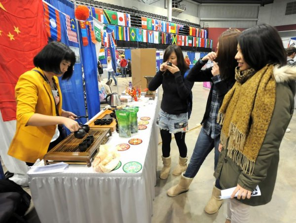 Scene from the 2012 International Festival at the Big Sandy Superstore Arena in Huntington, W.Va.